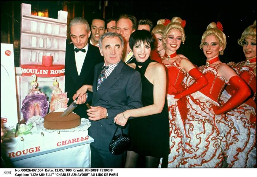 Charles Aznavour et Lisa Minelli étaient très proches et ont connu une idylle secrète dans les années 1960
