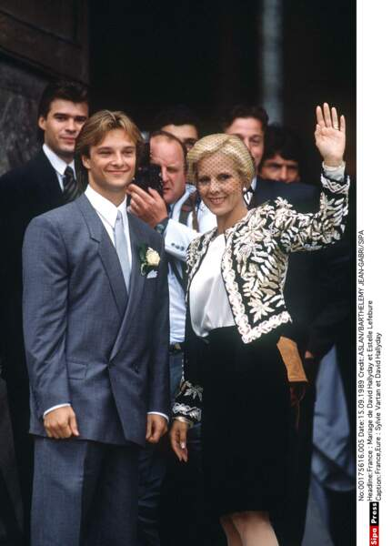 Mariage de David Hallyday et Estelle Lefebure