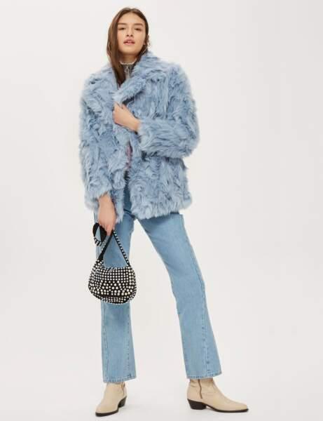 Manteau de fourrure : fun