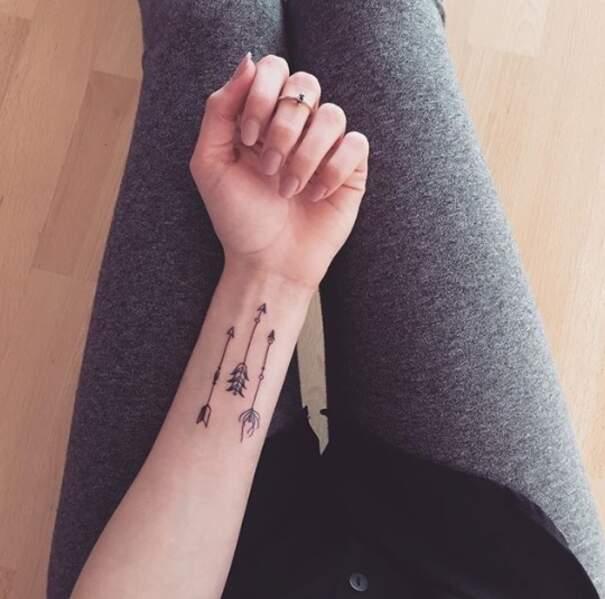 Le tatouage flèche