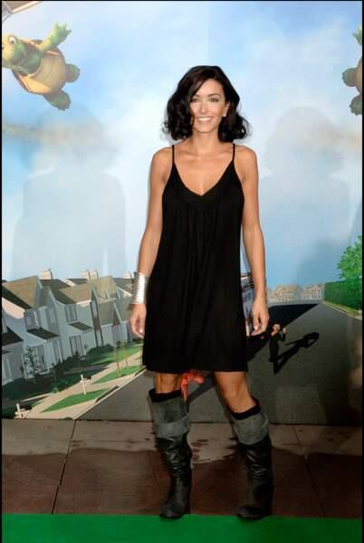 """A la première du film """"Nos voisins les Hommes"""" en juin 2006 à Paris"""
