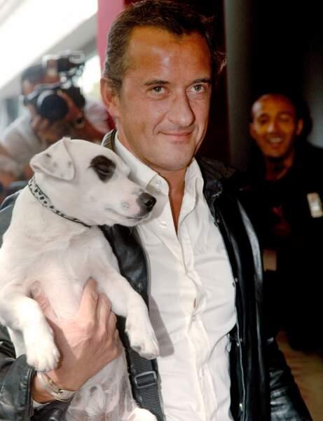 Adeck, le chien de Christophe Dechavanne