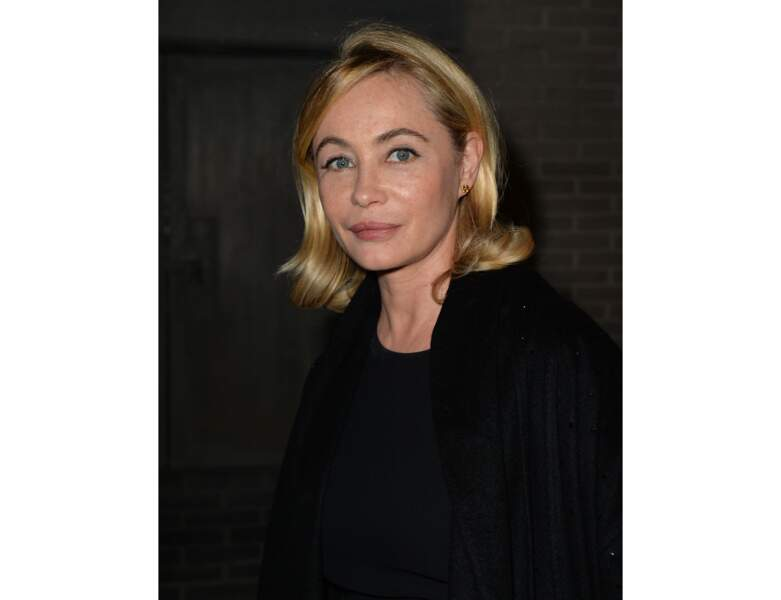 2019 : elle arbore un joli carré blond