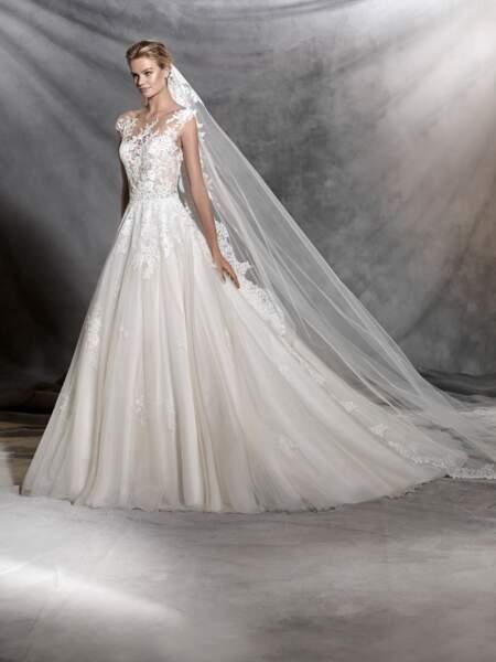 Robe de mariée Pronovias : Ofelia