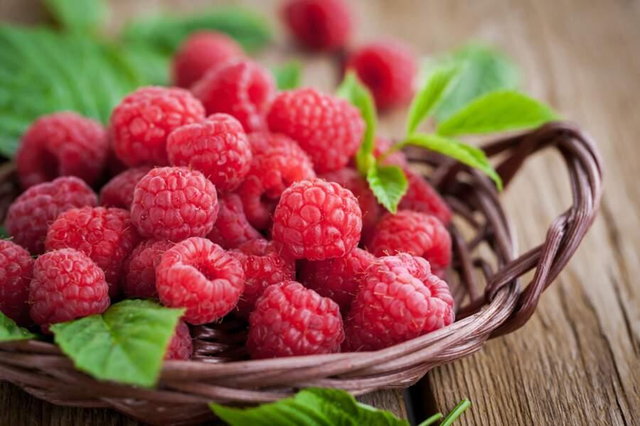 Fruit minceur : la framboise 30 kcal les 100g