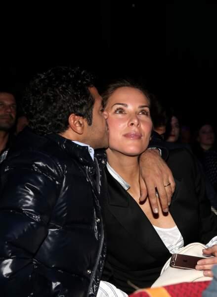 Jamel Debbouze et sa femme Mélissa Theuriau en 2016