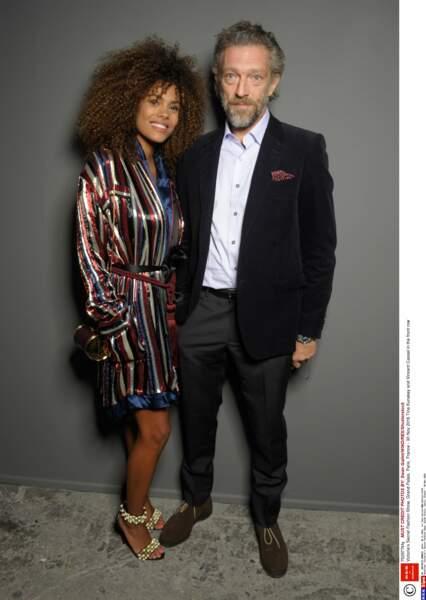 Vincent Cassel et Tina Kunakey : 2016