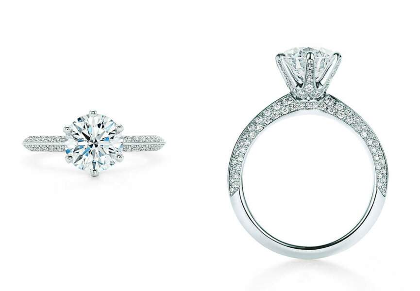 Le Tiffany® Setting pavé