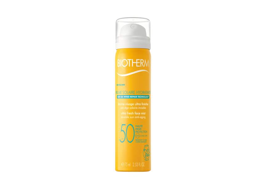 Brume solaire hydratante spf 50 Biotherm