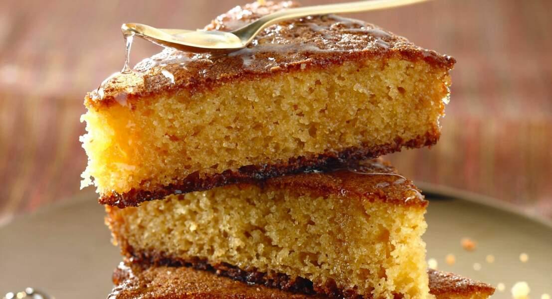Gâteau algérien Basboussa