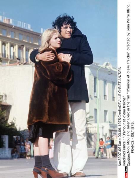 """...sur le tournage du film """"D'amour et d'eau fraîche"""" de Jean-Pierre Blanc."""