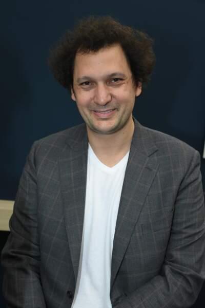Éric Antoine au salon du Livre de Paris 2019 à la Porte de Versailles, le 16 mars 2019