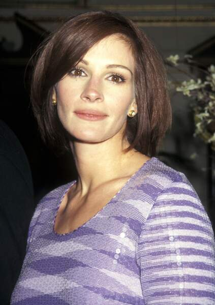"""Julia Roberts à la première du film """"Le mariage de mon meilleur ami"""" en 1997 à New York"""
