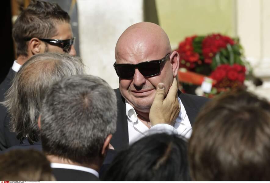 Philippe Bianchi, aux obsèques de son fils