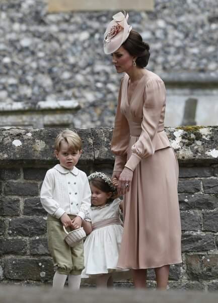 Kate Middleton, George et Charlotte