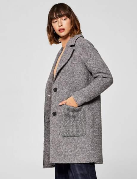 Le manteau blazer