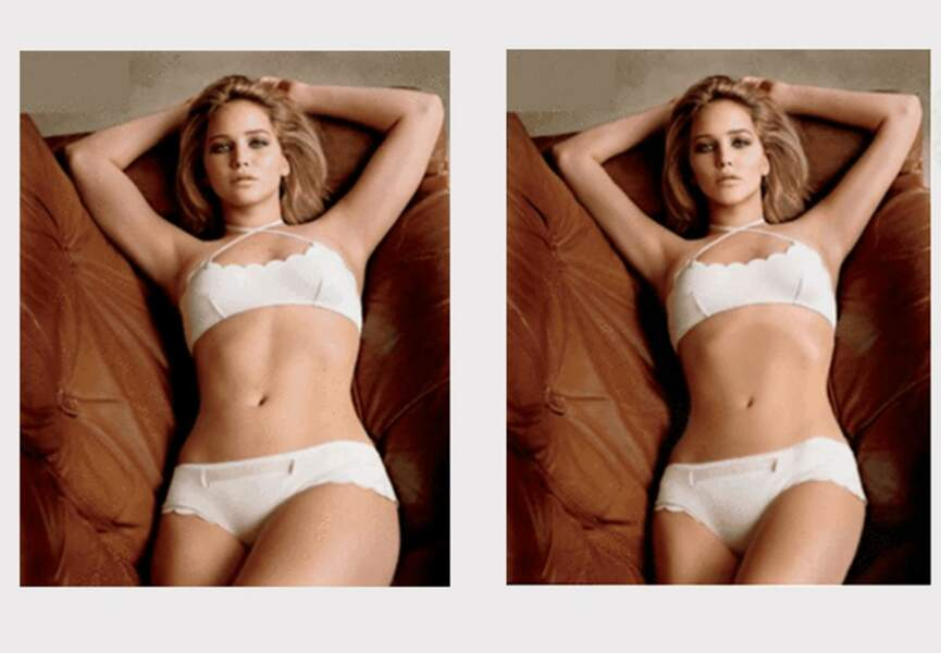 Jennifer Lawrence gagne (inutilement) une taille