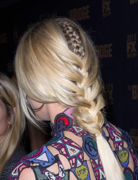 La coiffure graphique de Diane Kruger