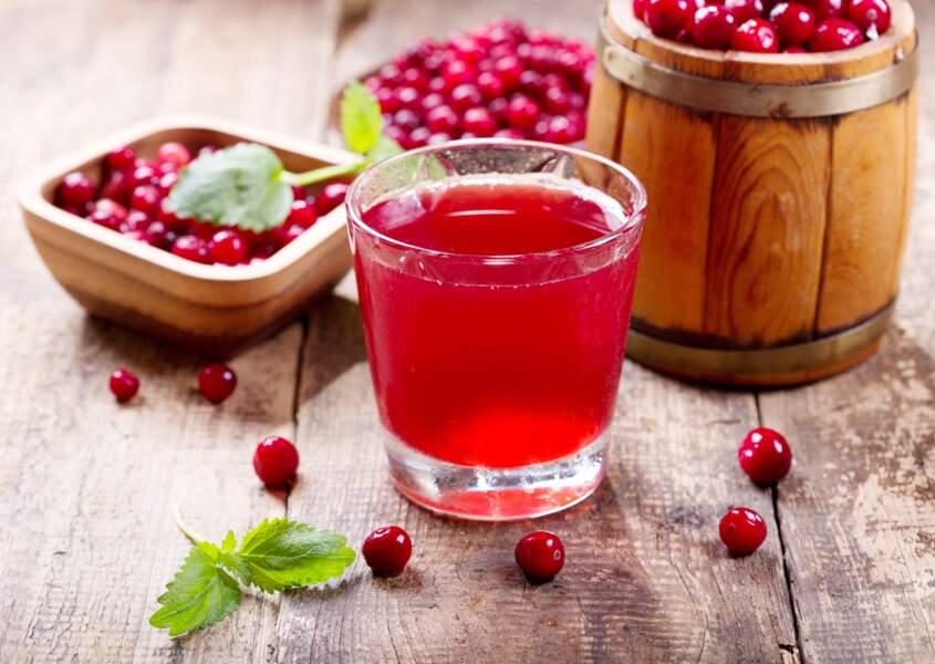 Buvez du jus de canneberge / cranberry