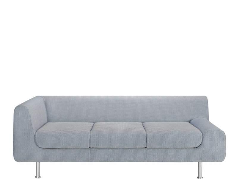 Canapé gris souris