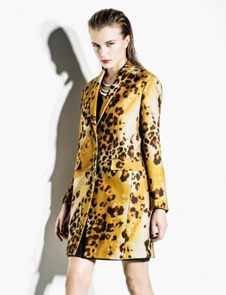 Le manteau excentrique