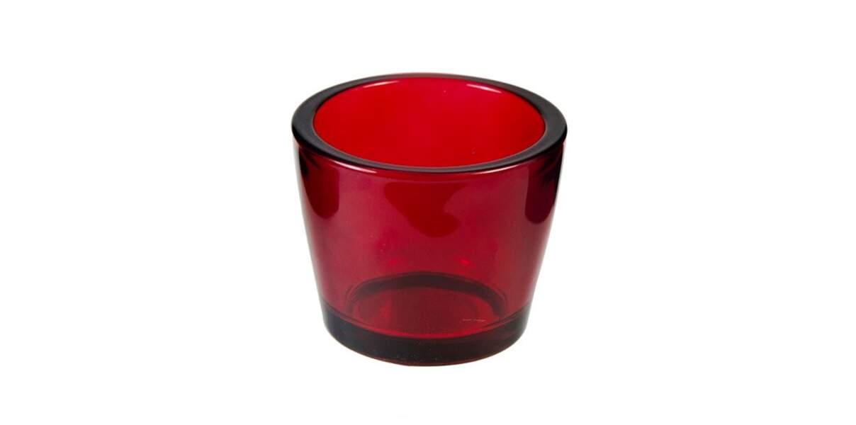 Photophore rouge La Foir'Fouille