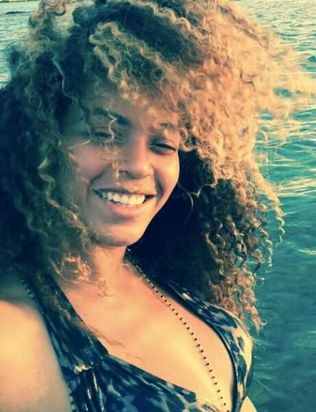 Beyoncé s'éclate aux Caraïbes