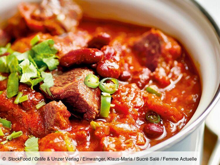 La vraie recette du chili con carne
