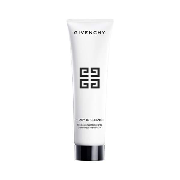 Ready To Cleanse - Crème en Gel Nettoyante, Givenchy, tube 150 ml, prix indicatif : 34 €