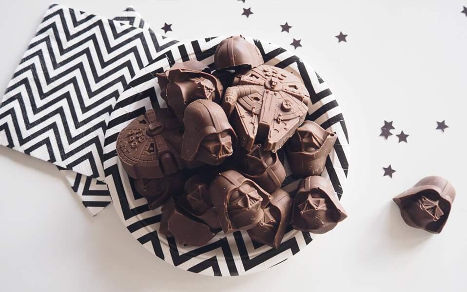 Des chocolats Dark Vador