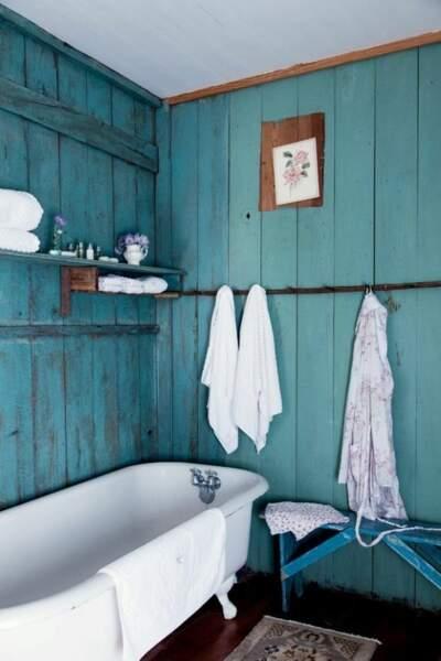 Une salle de bain comme un lagon