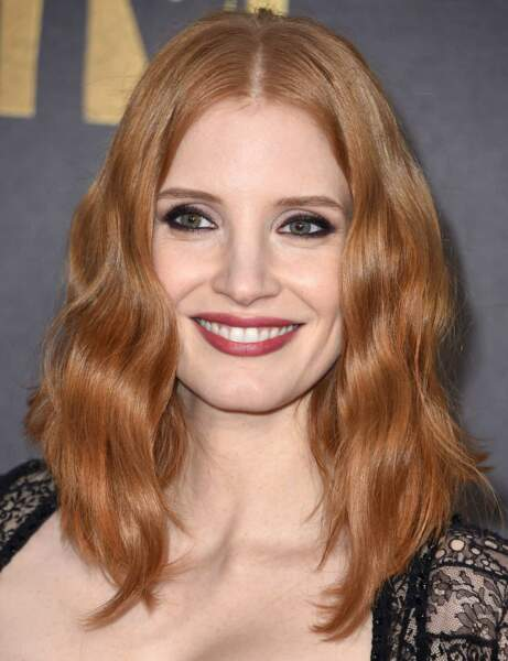 Jessica Chastain : son carré long