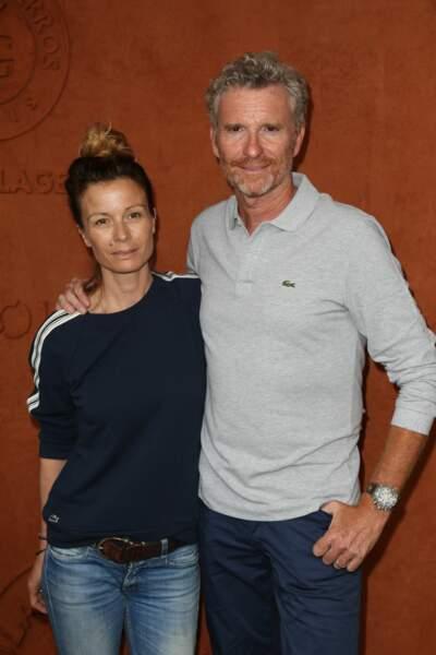 Denis Brogniart et sa femme Hortense
