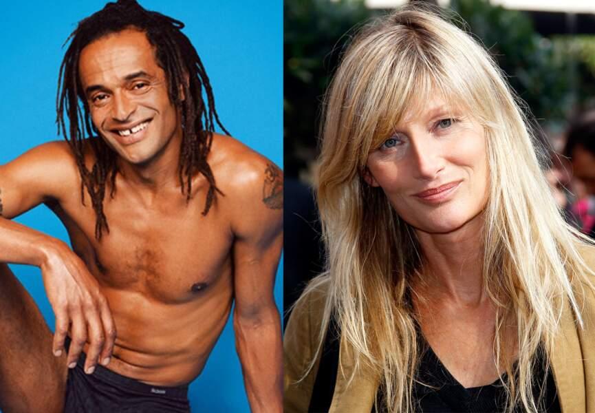 Yannick Noah et Isabelle Camus