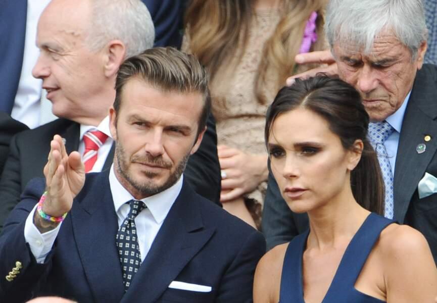 David Beckham droit au but