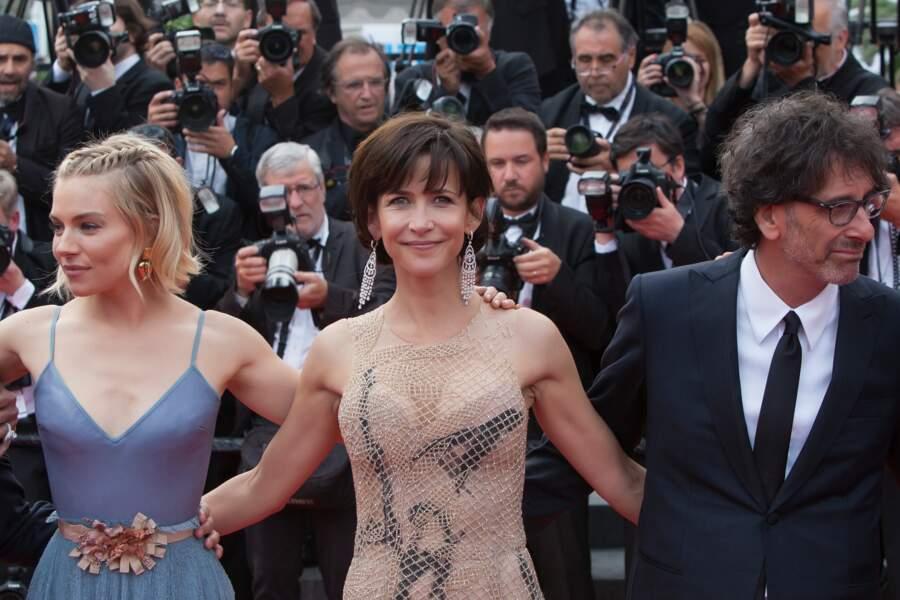 Sophie Marceau au 68ème festival de Cannes en mai 2015.