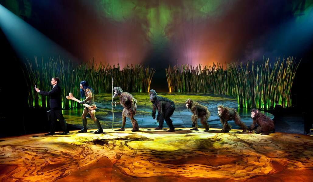 Le spectacle Totem pour la première fois en France