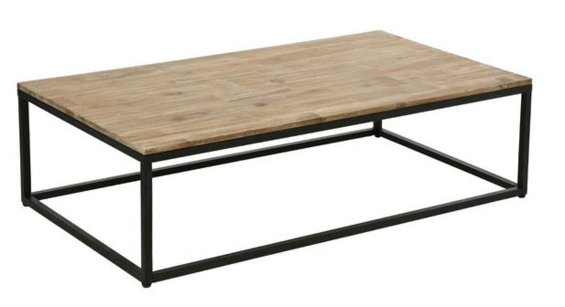 Table basse en acacia