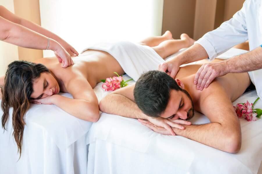 Un massage en couple pour resserrer les liens