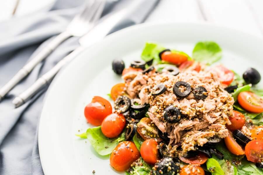 Salade niçoise tiède
