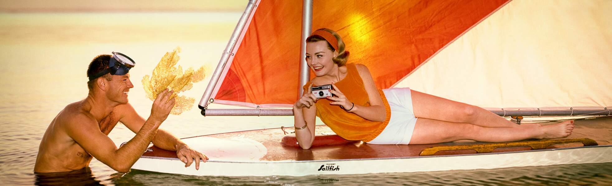 Sailboat, 1968