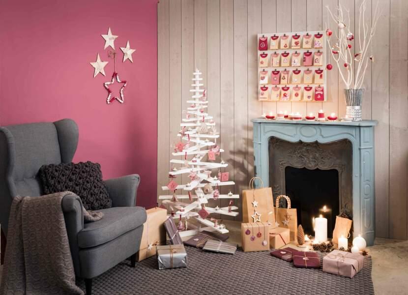 Pour Noël, un intérieur nature vintage