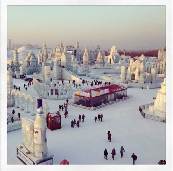 Le festival de Harbin a lieu chaque année depuis 1985