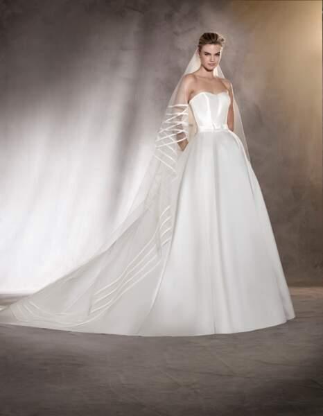 Robe de mariée Pronovias : Amanda