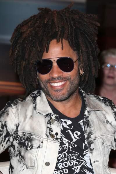Les dreadlocks style coupe afro de Lenny Kravitz