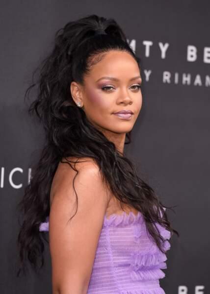 La queue-de-cheval haute de Rihanna