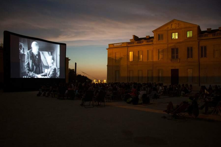 Cinéma sous les étoiles à Marseille