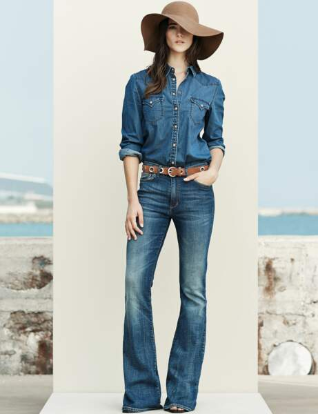 Tendance total denim