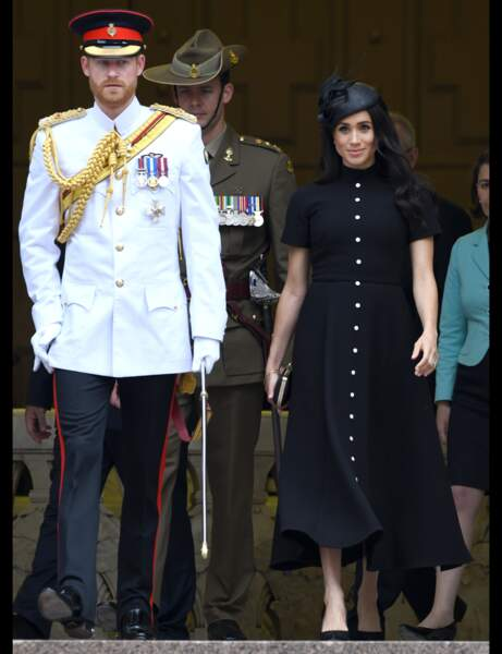 Look grossesse Meghan Markle : protocolaire