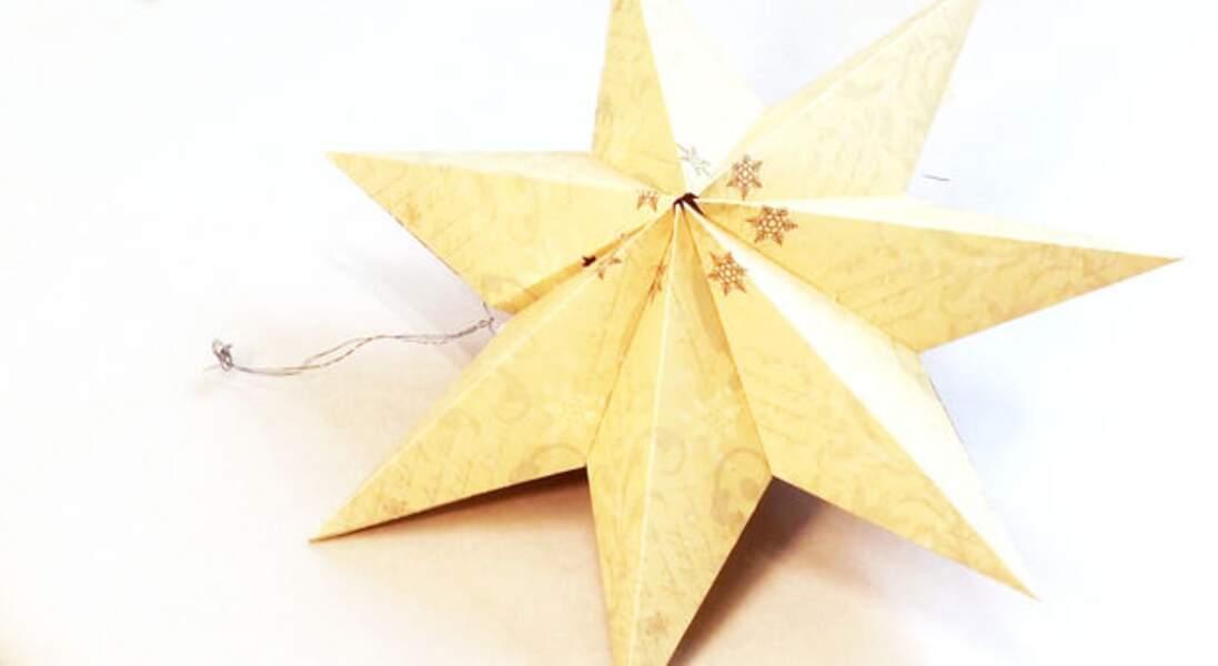 Une étoile à 7 branches